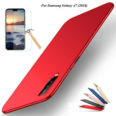 For Samsung Galaxy A7 2018 Case 360° Full Protective Cover + Screen Protector