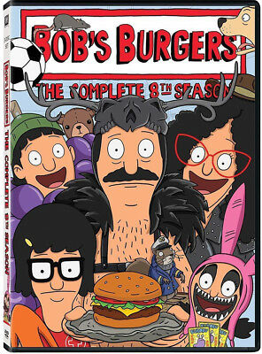 Bob's Burgers: The Complete Eighth Season 8 (Brand New, DVD, 3-Disc Set)