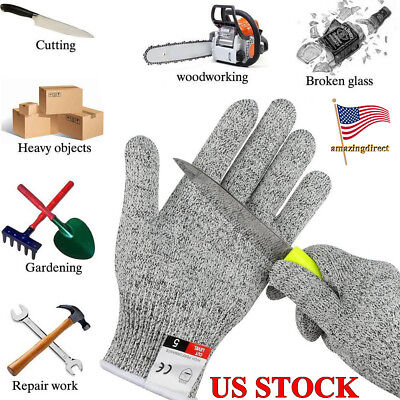 Cut Resistant Anti-Scratch Stab-resistant Gloves Protective for Work Garden Camp