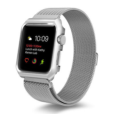 Charm Stainless Steel Magnetic Watch Band Strap for Apple Watch Series 1/2/3/4 W