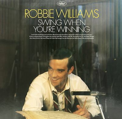 ROBBIE WILLIAMS - SWING WHEN YOURE WINNING - LP Vinyl NEUWERTIG!