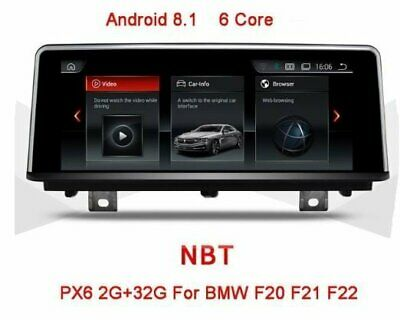 "AUTORADIO 8,8"" Android 8.1 BMW Series1 F20 2011-2014  Series2 F22 2013-2017"