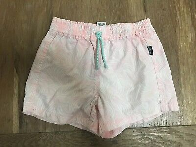 Bonds Toddler Girls Summer Board Shorts Swim Size 2 Pink