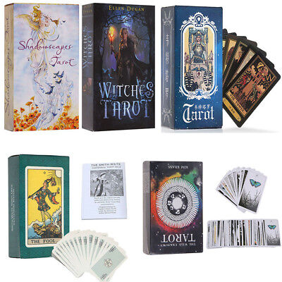 Witches Tarot Shadowscapes Tarot Rider-Waite Tarot Oracle Fortune Telling Card