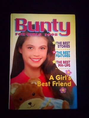Bunty Annual 1998 Retro/Vintage Girls Hardback Near Mint