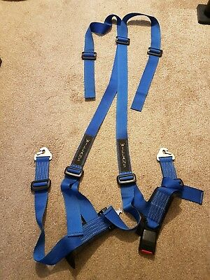 """WILLANS 4 Point Race Seat 2"""" Harness"""