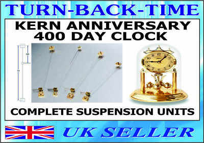 KERN 400 day Anniversary Clock  Complete Ready made Suspension Units