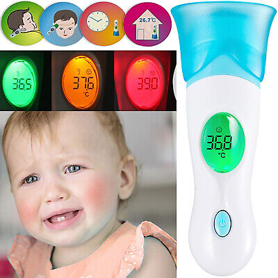 Digital Body Thermometer Adult Children IR Infrared LCD Baby Care Temperature UK