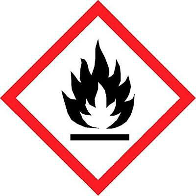 Highly flammable coshh symbol Safety sign