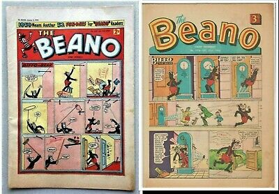 BEANO # 859 January 3rd 1959 New Year issue the comic
