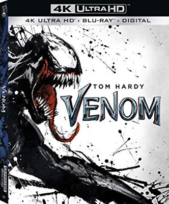 venom 4K & digital- no blu-ray disc