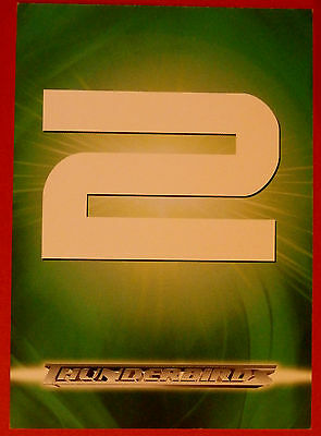 THUNDERBIRDS - Unredeemed Redemption Card, LADY PENELOPE'S COAT Cards Inc 2004