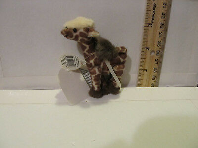 Boyds T F Wuzzie Ornament Tootall Brown Spotted Giraffe  RTD