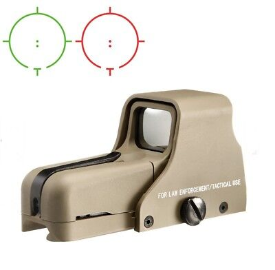 AIM-O 552 Holosight  Green/Red Dot TAN AIRSOFT KSK ARMY NAVY SEALS BW GOTCHA