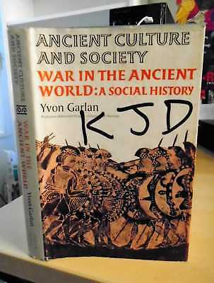 Garlan: War in the Ancient World. A Social History 1976 Military Antiquity HB