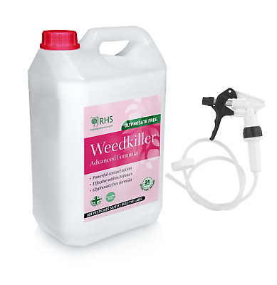RHS 5L Weed killer | Advanced Glyphosate Free Formula | Effective within 24 h