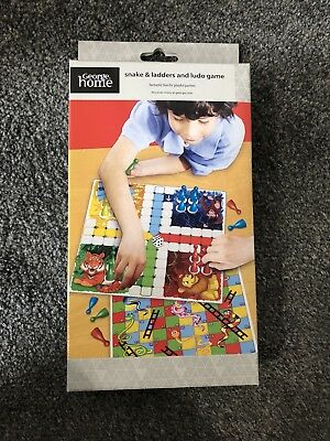 George Home Snakes & Ladders And Ludo Game