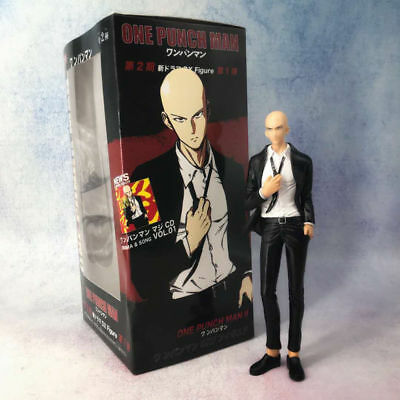 19cm ONE PUNCH-MAN One Punch Man Rockman Suit Action figure toys doll 18cm
