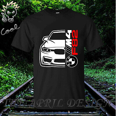BMW M4 F82 T-SHIRT Car Series M3 M6 Z4 X6 MENS