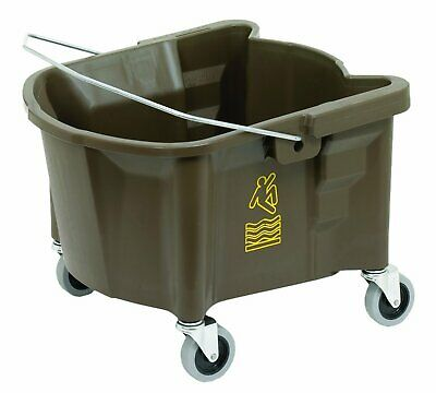 "Continental Manufacturing Co. 26Qt. Mop Bucket W/3""Casters Bronze"