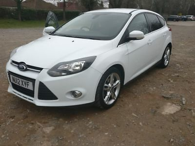 2012 ford focus 1.0 ecoboost  titanium white low mileage