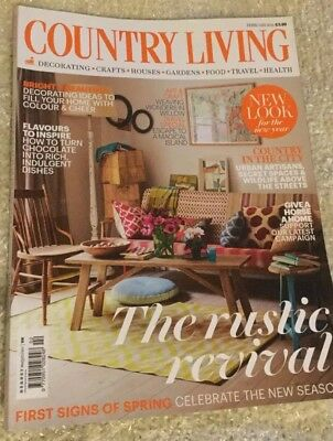 Country Living - The Rustic Revival - Feb 2014