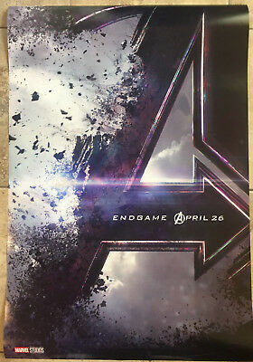 Avengers End Game 2019 Original Theatrical DS Movie Poster 27x40 - NEW USA