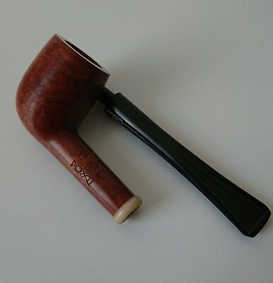Longue pipe en bruyère NEUVE marque CHACOM POXAT made in France 45 vintage