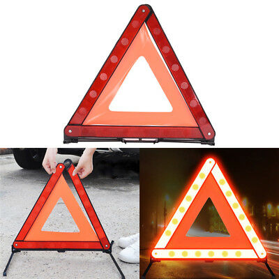 Large Warning Car Triangle Reflective Road Emergency Breakdown Safety Signs LS
