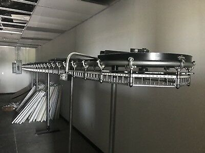 Garment Conveyor with motor For Dry Cleaners