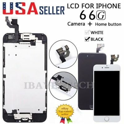 For iPhone 6 A1549 A1586 LCD Touch Screen Replacement With Home Button&Camera