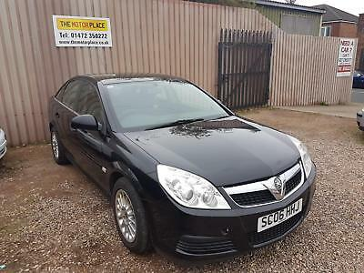 Vauxhall Vectra Exclusiv 1.9 CDTi Manual Diesel Black 5 Door Hatchback 2006