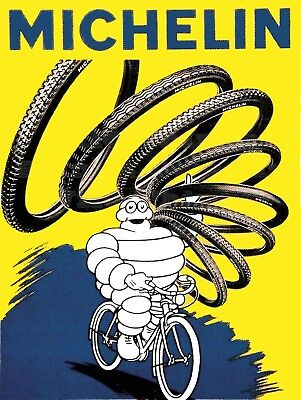 Michelin, Retro metal Sign/Plaque, Gift, Home, Garage, Shed, Motors