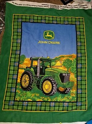 John Deere Heartland Bty Springs Industries Green Tractor Yellow