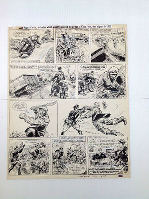 Original Comic Art of ZIP NOLAN by Fred Holmes