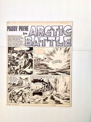 Original Comic Art of PADDY PAYNE by Peter Sarsene