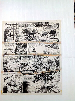 Original Comic Art of ADAM ETERNO by F. Solano Lopez