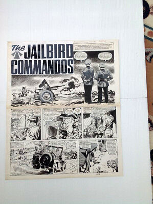 Original Comic Art of JAILBIRD COMMANDOS by Gonzalez