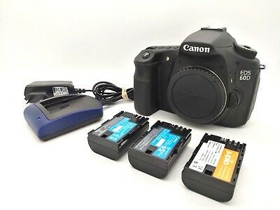 CANON EOS 60D Digital SLR Camera 18 Mpx & Accesories -[ Shutter Count 16.964 ]-
