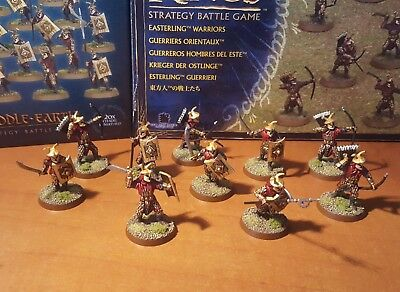 Lord of the rings games workshop Easterling 10 great painted