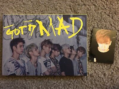 GOT7 Mad 4th Mini Album BamBam Photocard
