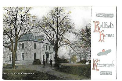Kilmarnock. Bellfield House. Published by Art Publishing of Glasgow.