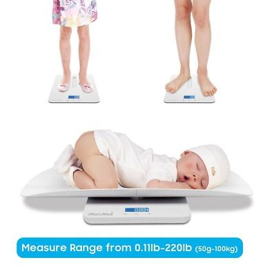 Baby Scale, Multi-Function Toddler Scale, Pet Scale, with Hold Function KN-B1H