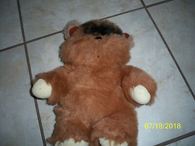 1983 Plush ewok Vintage Star wars