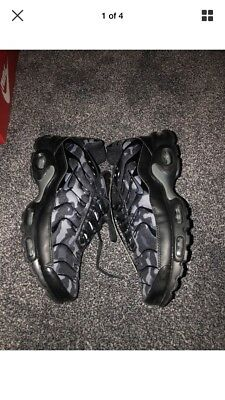 new styles 80b16 a4f99 NIKE AIR MAX Plus Nike Tns Uk 10 Black And Grey Camo
