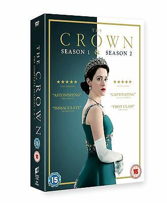 The Crown Season 1 & 2 Complete DVD Brand New Sealed Region 2 UK