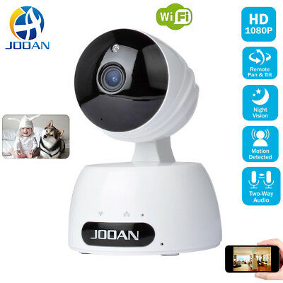 JOOAN Wireless HD 1080P Camera WiFi Security Surveillance IR Webcam Night Vision
