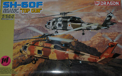 "Dragon 1/144 Sh-60 F Us Navy "" Top Gun "" Nsawc"