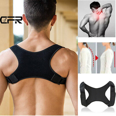 Posture Clavicle Support Corrector Back Straight Shoulders Brace Strap Correct T