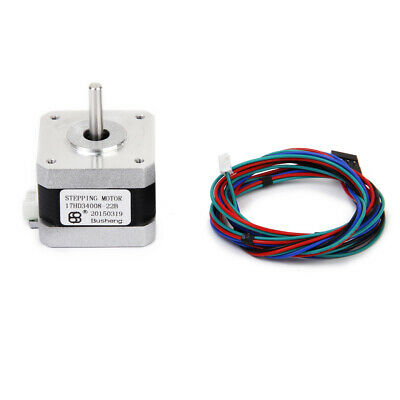 Nema 17 3D Printer Two-phase 4-wire Stepper Stepping Motor for 1.8Degree